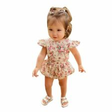Baby Girl Rompers Flower Summer Girls Clothing Roupas Bebes Newborn Baby Clothes