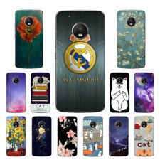 Soft TPU Silicone Case For Motorola Moto G5 Plus Phone Back Covers Skins Cats