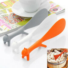 Creative Kitchen Squirrel No Sticky Table Rice Paddle Scoop Spoon Ladle Tool