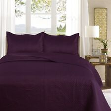 Quilted Bedspread With 2 Pillows Shams Bedding Quilted Throw Quilted Double,King