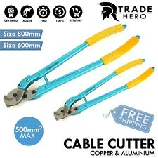800mm & 600mm HD Parrot Beak Cable Cutter Copper and Aluminum Up To 250 - 500 mm