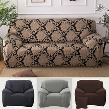 1 2 3 Seater Stretch Fit Sofa Slipcover Protector Fit Chair Soft Couch Cover AU!