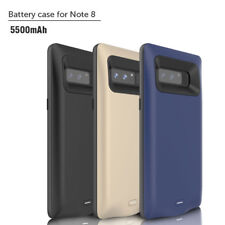 Rechargeable Extended Battery Backup Power Bank Case For Samsung Galaxy Note 8