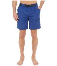The North Face Men Belted Guide Trunk Shorts L, XL Relaxed Fit FlashDry Blue New
