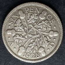 1920 - 1936 King George V Silver Sixpence Coins - Choose Your Year!