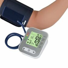 NEW Upper Arm Blood Pressure Pulse Monitor Digital LCD Sphygmomanometer Family U