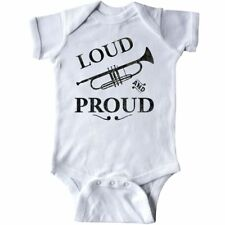 Inktastic Loud And Proud Trumpet Infant Creeper Music Brass Horn Band Musical