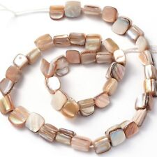 8mm Eros MOP Shell Beads Loose Bead Strand Free Form Mother of Pearl Wholesale