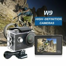 1080P HD WIFI Sports Camera Waterproof Mini Cam LCD Action Camcorder W9 BS
