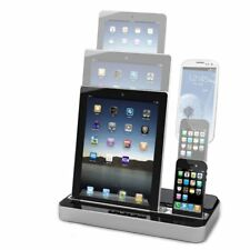iPega Speaker Charger Stand Dock Station iPhone 4 5 6 iPad Air Mini Galaxy BS
