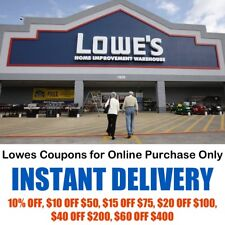 Lowes Coupons for Online Purchase Only