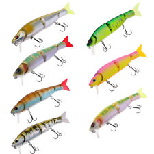 Mutil jointed Lures Minnow Fishing Baits Wobbler Pike Trout Perch Crankbaits
