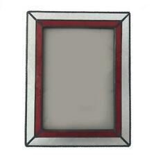 Retro Style Glass Free Standing Picture Photo Frame Table Decoration 5 x 7 inch
