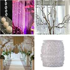 99 FT Garland Diamond Strand Acrylic Crystal Bead Wedding Party Decoration
