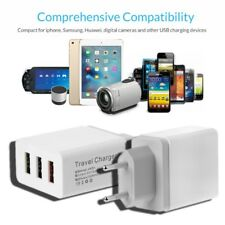 1 2 3 USB Port 5V 2.4A Travel Charger Power Adapter For Phone Tablet PC EU Plug