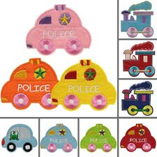 Mini Embroidered Colorful Car Iron On Patch DIY Sewing Clothes Patch 10pcs/Set