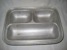 VINTAGE WILTON ARMETALE DIVIDED SERVING DISH TRAY COLUMBIA PA