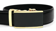 Mens Genuine Leather Sliding Automatic Buckle Ratchet Belt  MGLBB11