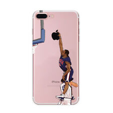 Case Cover For Apple iPhone 5 6 7 8 Plus X Vince Carter Leap Over Frederic Weis