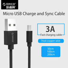 Fast Charging Micro USB Cable Android 3A USB Data Sync Charger Mobile Phone new