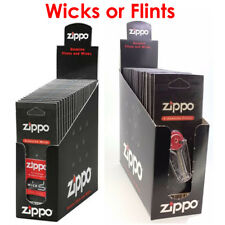 Genuine Original Zippo Lighter Wicks or Flints Brand New - FULL BOX
