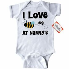 Inktastic Nanny's House Bee Infant Creeper Nanny Gift From Grandchild Grandkids