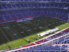 2 Pittsburgh Steelers vs Denver Broncos 2018 Tickets 15th Row Section 539 Aisle