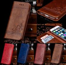 Leather Flip Wallet Phone Case Cover Stand for iPhone 7 6 6SPlus Samsung Note QE
