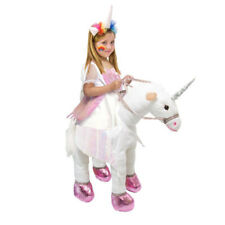 Kids Animal Unicorn Horse Halloween Fancy Outfit Dress Up Costume Ride On