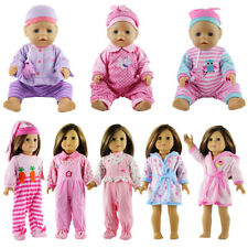 Baby Born Pajamas Doll Clothes For 43cm Baby Born Zapf  or American Girl Doll