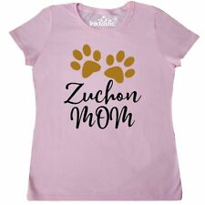 Inktastic Zuchon Dog Mom Gift Women's T-Shirt Breed Paw Print Present Pets Tees