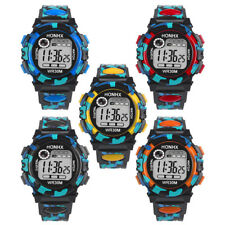 Fashion Kids Child Boy Girl Watches Multifunction Waterproof Electronic relojes