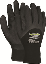 Prosafe ULTRATECH COLD RESISTANT GLOVES 1Pair PVC Foam Coating BLACK- S, M Or XL