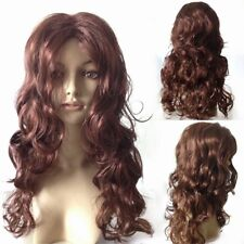 Lady's Full Wigs Sexy Long Curly Fashion Wavy Hair Wig Party Cosplay Dress AY
