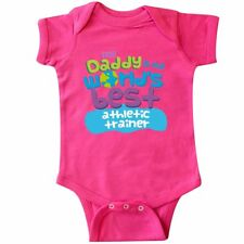 Inktastic Worlds Best Athletic Trainer Daddy Infant Creeper Child�s Kids Baby My