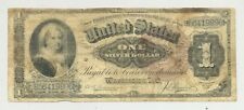 $1 Series 1886 Martha Washington Silver Certificate in circulated condition