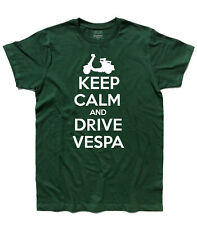 men's t-shirt KEEP CALM AND DRIVE vespa vespa mods style Who target carry on
