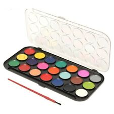 New Kids 21 Colour Paint Brush Palette Set Art Crafts Home School