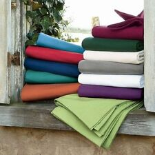 1000 TC Water Bed Sheet Set Egyptian Cotton Queen Size All Colors