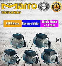 MARRO REVERSIBLE CSCR ELECTRIC MOTOR 240V SINGLE PHASE CEMENT MIXER COMPRESSORS