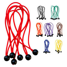 """6pcs 5.9"""" Ball Bungee Rope Canopy Tarp Ties Elastic Cords Tent Accessories"""