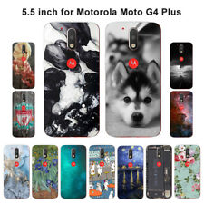 Soft TPU Silicone Case For Motorola Moto G4 Plus Phone Back Covers Skins View