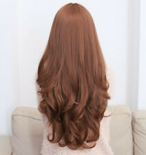 Womens Ladies Wig Fashion Cosplay Curly Full Hair Long Costume Anime DIY Party