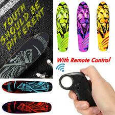 New Wireless Remote Control Longboard Skate Electric Skateboard Complete Deck