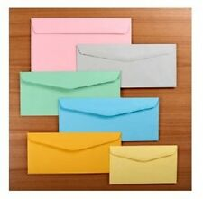 Colored Envelopes Gray Green Pink Yellow Blue Orange 1000/lot 6 sizes + A2 A6 A7