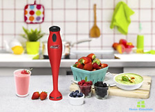 Immersion Hand Held Blender Electric Stick Mixer Stainless Steel Blenders New