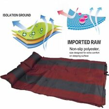 Self Inflating Mattress Air Bed Joinable Camping Hiking Sleeping Mat Double ERT