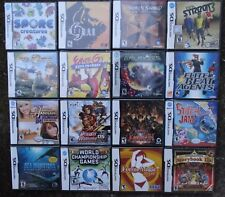 NICE SELECTION Nintendo DS DSi 3DS 2DS XL Video GAME NEW SEALED - You Choose One