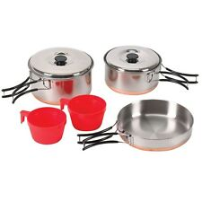 Stansport Two Person Stainless Cook Set - 362