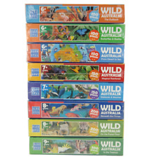Wild Australia educational jigsaw puzzles